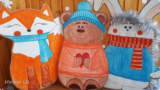 Поделки из картонных коробок своими руками. Большие, новогодние, для фотосессии и декора.