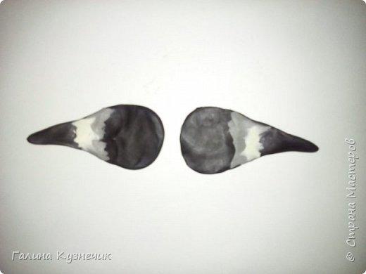 Наконец-то я его сделала. Люблю смотреть на этих птиц, они необыкновенно красивые, яркие. Но появляются у нас только зимой. Как их делать когда-то очень давно мене показала моя коллега-наставница, сейчас она на заслуженном отдыхе. Посвящается Тремасовой Валентине Михайловне, замечательному воспитателю и человеку. Спасибо! Теперь и я решила поделиться с вами. фото 16