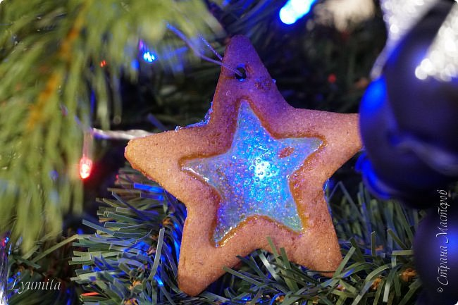 Добрый день, друзья! Поздравляю ВСЕХ жителей СМ с наступающим Новым годом!!! Сегодня с детьми пекли витражное печенье. Такое печенье будет украшением ёлки и праздничного стола! фото 4