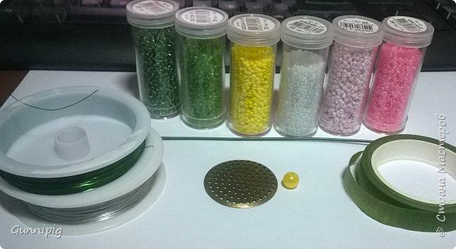 Представляю Вашему вниманию мастер-класс по плетению цветка лотоса из бисера. фото 2