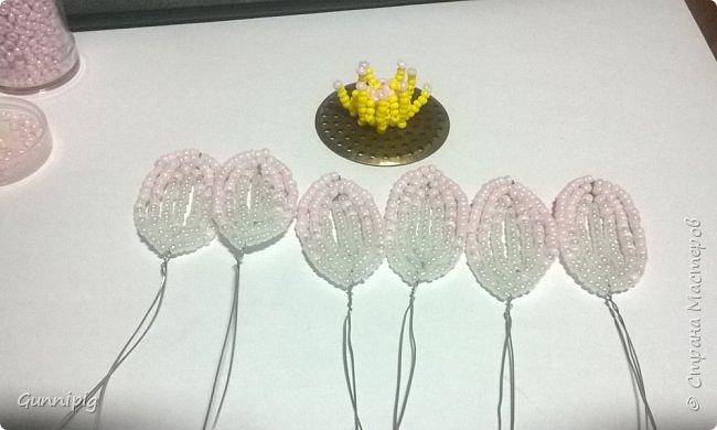 Представляю Вашему вниманию мастер-класс по плетению цветка лотоса из бисера. фото 14