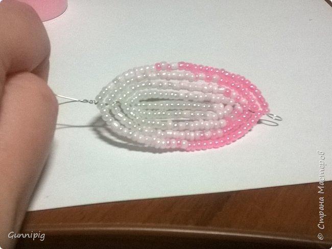 Представляю Вашему вниманию мастер-класс по плетению цветка лотоса из бисера. фото 27