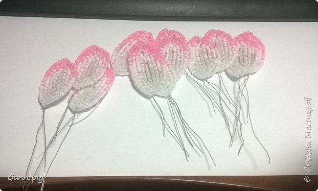 Представляю Вашему вниманию мастер-класс по плетению цветка лотоса из бисера. фото 28