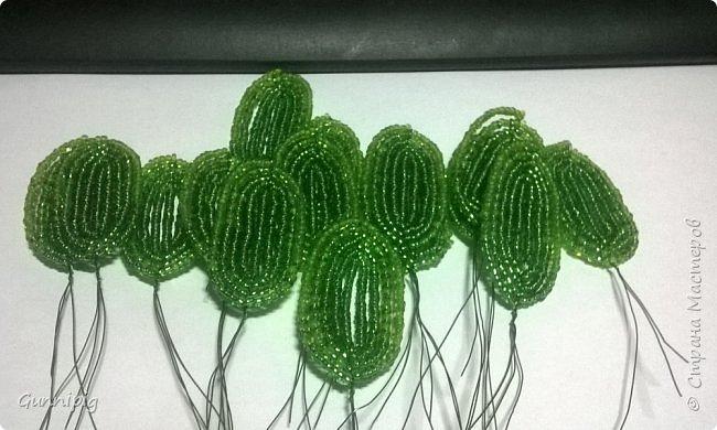 Представляю Вашему вниманию мастер-класс по плетению цветка лотоса из бисера. фото 35