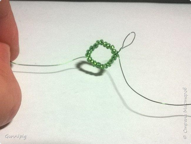 Представляю Вашему вниманию мастер-класс по плетению цветка лотоса из бисера. фото 37
