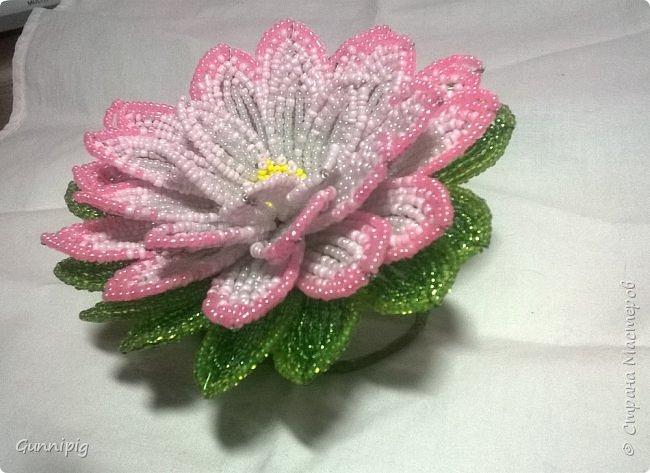 Представляю Вашему вниманию мастер-класс по плетению цветка лотоса из бисера. фото 51