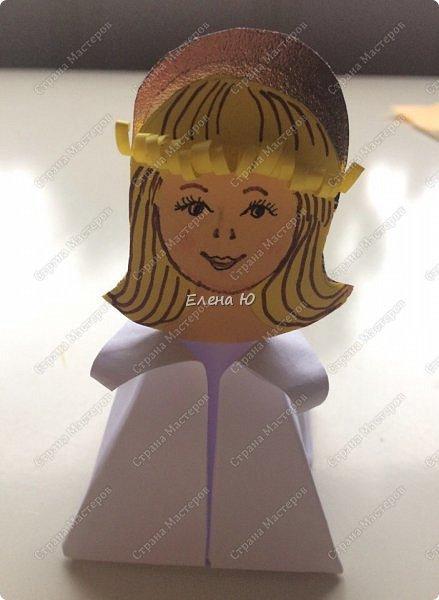 Идея ангелочка возникла после просмотра Новогоднего мастер-класс Татьяны Николаевны:  http://stranamasterov.ru/node/1071957  фото 12