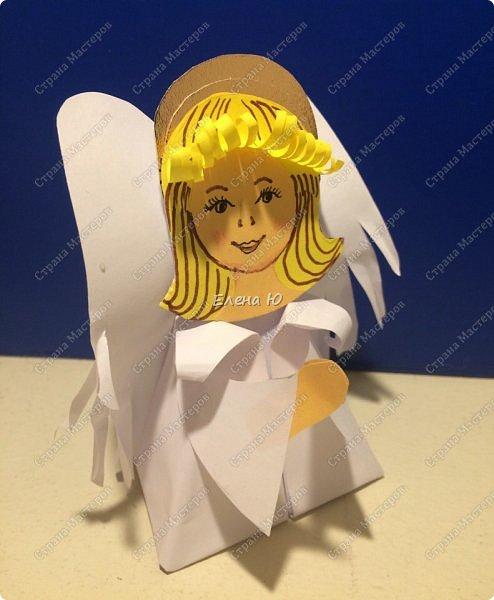 Идея ангелочка возникла после просмотра Новогоднего мастер-класс Татьяны Николаевны:  http://stranamasterov.ru/node/1071957  фото 17