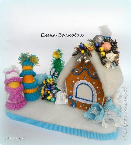 Добрый день! Набор игрушек в сине-белой гамме. фото 9