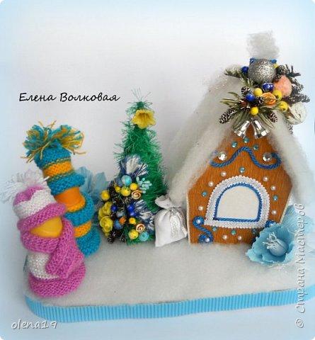 Добрый день! Набор игрушек в сине-белой гамме. фото 10