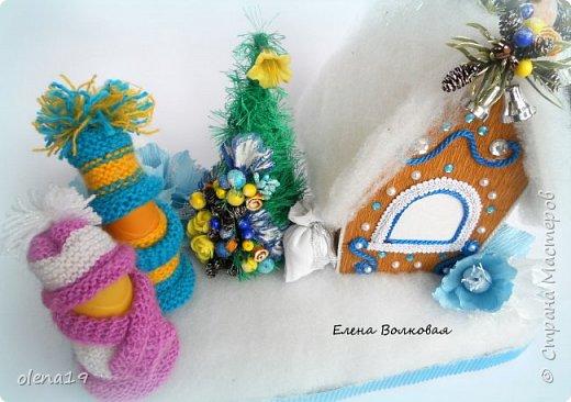 Добрый день! Набор игрушек в сине-белой гамме. фото 11
