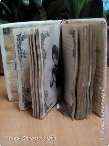 Добрый день, дорогие мастера. Хочу поделиться с вами своими новыми изделиями Записные книжки в винтажном стиле фото 8