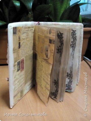 Добрый день, дорогие мастера. Хочу поделиться с вами своими новыми изделиями Записные книжки в винтажном стиле фото 7