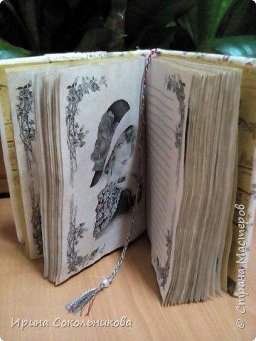 Добрый день, дорогие мастера. Хочу поделиться с вами своими новыми изделиями Записные книжки в винтажном стиле фото 11