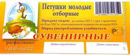 символ года 2017(по мк Людмилы Набиулинной) фото 2