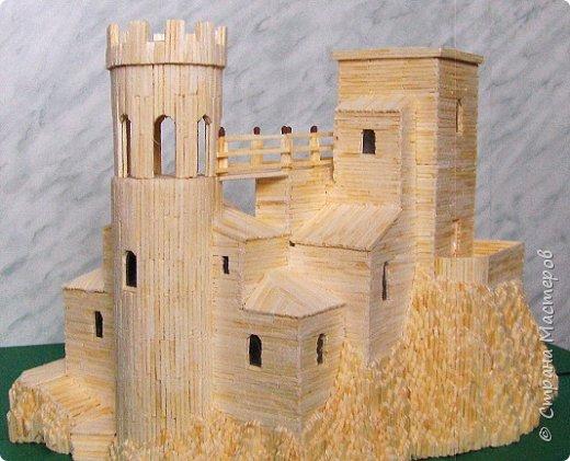 Башня Пеполи (Pepoli) г. Эриче, о. Сицилия, Италия. Размер 25х27х22 см. фото 1