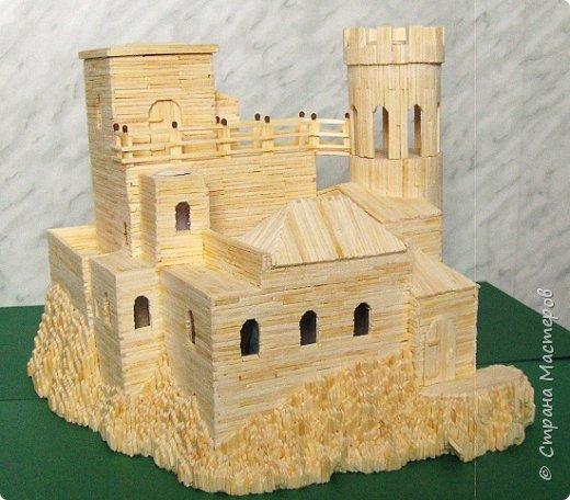 Башня Пеполи (Pepoli) г. Эриче, о. Сицилия, Италия. Размер 25х27х22 см. фото 12