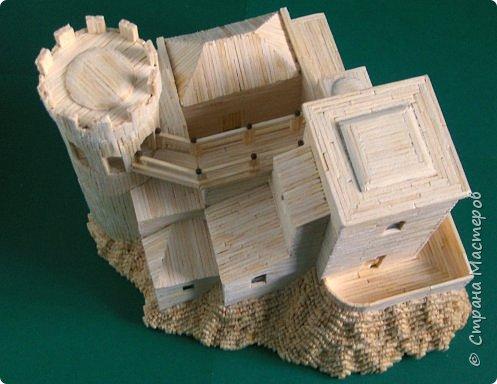 Башня Пеполи (Pepoli) г. Эриче, о. Сицилия, Италия. Размер 25х27х22 см. фото 13
