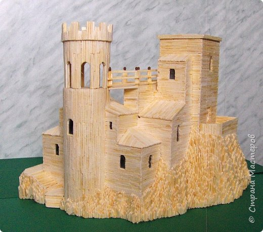 Башня Пеполи (Pepoli) г. Эриче, о. Сицилия, Италия. Размер 25х27х22 см. фото 14