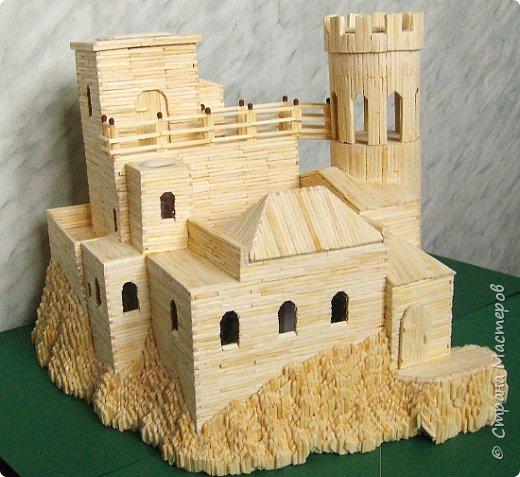 Башня Пеполи (Pepoli) г. Эриче, о. Сицилия, Италия. Размер 25х27х22 см. фото 15