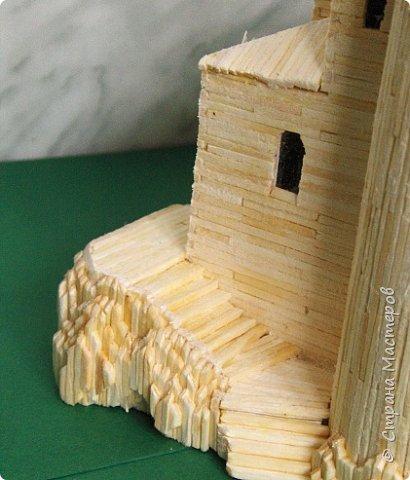 Башня Пеполи (Pepoli) г. Эриче, о. Сицилия, Италия. Размер 25х27х22 см. фото 3
