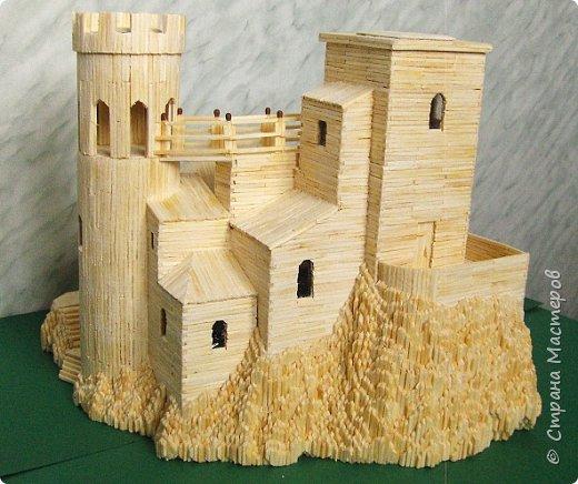 Башня Пеполи (Pepoli) г. Эриче, о. Сицилия, Италия. Размер 25х27х22 см. фото 10