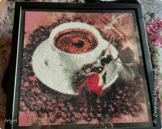 Мозаика  кофейная фото 2
