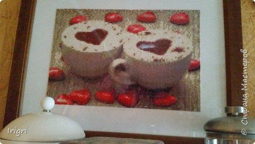 Мозаика  кофейная фото 3