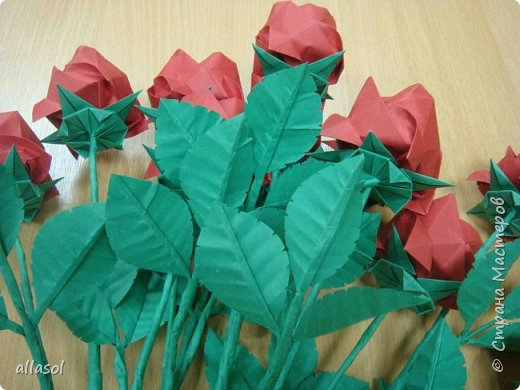 Букет из роз Кавасаки с новыми чашелистиками фото 3