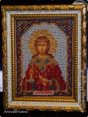Святая Мария Магдалена  вышита в подарок жене брата фото 6