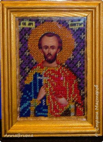 Святая Мария Магдалена  вышита в подарок жене брата фото 5