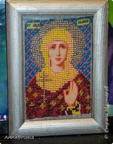 Святая Мария Магдалена  вышита в подарок жене брата фото 4