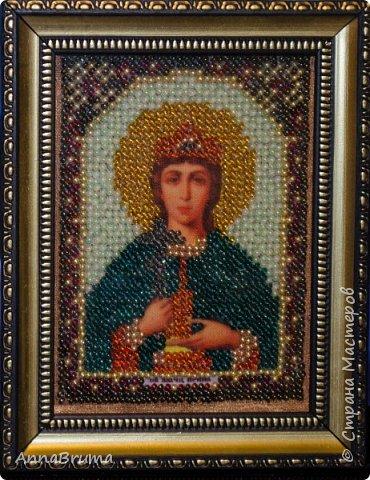 Святая Мария Магдалена  вышита в подарок жене брата фото 2