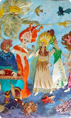 По мотивам иллюстраций А.Кара-Константинова  115х70 фото 3