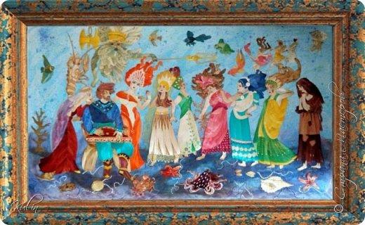 По мотивам иллюстраций А.Кара-Константинова  115х70 фото 1