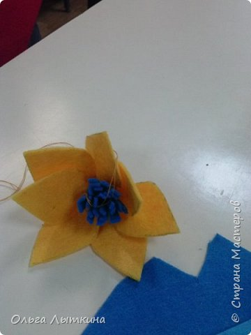 """Представляю кактус-игольницу. Мастер-класс сделан на """"скорую руку"""", но думаю все будет понятно! Идея из интернета! фото 10"""