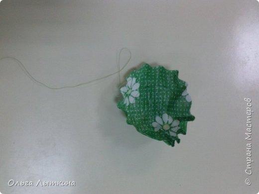 """Представляю кактус-игольницу. Мастер-класс сделан на """"скорую руку"""", но думаю все будет понятно! Идея из интернета! фото 11"""