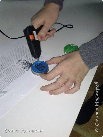 """Представляю кактус-игольницу. Мастер-класс сделан на """"скорую руку"""", но думаю все будет понятно! Идея из интернета! фото 15"""