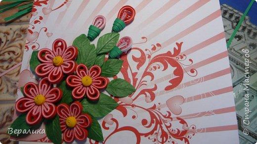 Сегодня хочу показать вам небольшую цветочную композицию, которую создала просто так, в период передышки между праздниками...Цветочки делала по МК Натальи К :http://stranamasterov.ru/node/437388?c=favorite  фото 2