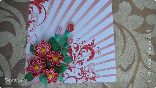 Сегодня хочу показать вам небольшую цветочную композицию, которую создала просто так, в период передышки между праздниками...Цветочки делала по МК Натальи К :http://stranamasterov.ru/node/437388?c=favorite  фото 3