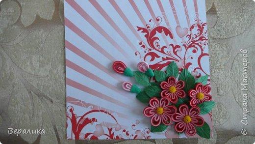 Сегодня хочу показать вам небольшую цветочную композицию, которую создала просто так, в период передышки между праздниками...Цветочки делала по МК Натальи К :http://stranamasterov.ru/node/437388?c=favorite  фото 5