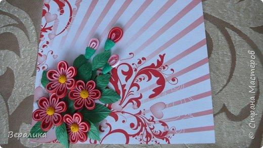Сегодня хочу показать вам небольшую цветочную композицию, которую создала просто так, в период передышки между праздниками...Цветочки делала по МК Натальи К :http://stranamasterov.ru/node/437388?c=favorite  фото 1