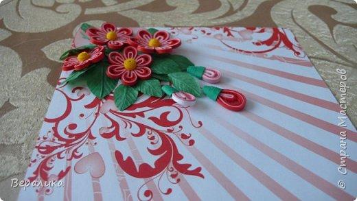 Сегодня хочу показать вам небольшую цветочную композицию, которую создала просто так, в период передышки между праздниками...Цветочки делала по МК Натальи К :http://stranamasterov.ru/node/437388?c=favorite  фото 7