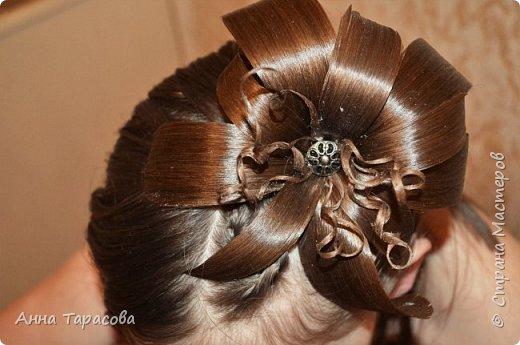 Украшения из волос(постиж) фото 1