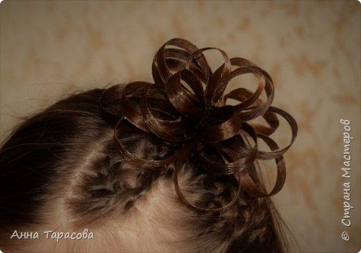 Украшения из волос(постиж) фото 2
