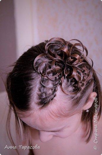 Украшения из волос(постиж) фото 3