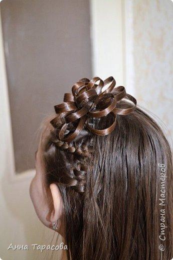 Украшения из волос(постиж) фото 4