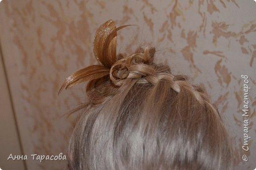 Украшения из волос(постиж) фото 6