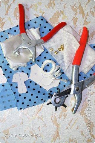Кеды для куклы своими руками
