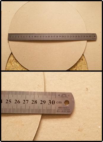 Здравствуйте мои дорогие соседи! Сегодня я расскажу, как вырезать ровно круг из переплетного картона.  фото 14